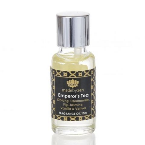 EMPEROR'S TEA - Signature Scented Fragrance Oil Made By Zen 15ml